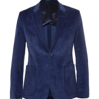 Acne Studios - Blue Stan Slim-Fit Corduroy Suit Jacket | MR PORTER