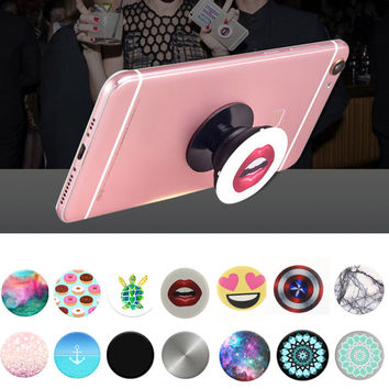 Fashion Popsocket Pop Socket Popsockets Mobile Phone Holder for Cellphones Tablets for IPhone 7 Xiaomi Redmi Note 3 Samsung Zet