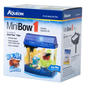 Aqueon® 1 Gallon MiniBow Desktop Aquarium Kit | Aquariums | PetSmart