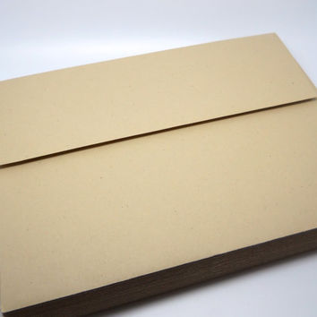 Smooth Kraft Paper Envelopes - 5x7 - QTY 25