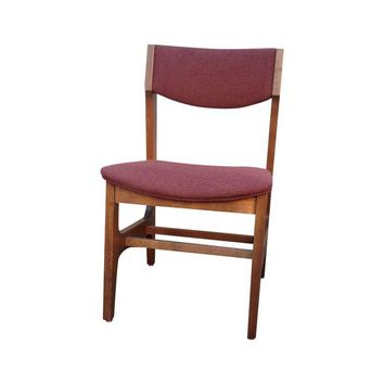 Pre-owned Vintage Mid-Century Wooden Side Chair - Pair