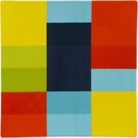 Colorblock Square Platter