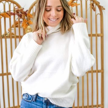 Come To Town Sweater - Cream