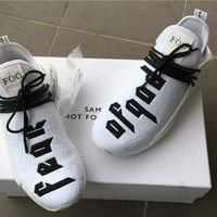 [Free Shipping ]Fear of God x Adidas NMD Pharrell Williams Human Race  Casual  Sneaker Running Shoes