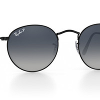 Look who's looking at this new Ray-Ban round metal sunglasses