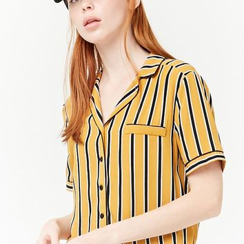 Stripe Button-Down Shirt