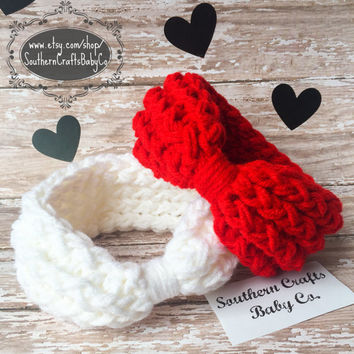 Baby Headband Grey Headband Winter Ear Warmer Chunky Headband Ear Warmer Headband