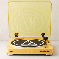 Audio-Technica X UO Mellow Yellow AT-LP60 Bluetooth Record Player | Urban Outfitters