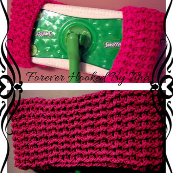 Crochet Swiffer Covers - Reuseable Swiffer Pads - Ready to Ship
