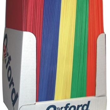 Two Pocket Folders - Assorted Colors - CASE OF 100