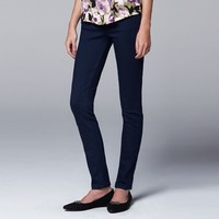 Simply Vera Vera Wang High-Waist Skinny Jeans - Women's (Resinmoon)