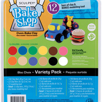 Sculpey Bake Shop Oven-Bake Clay Kit-Assorted Colors
