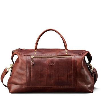 J.W. Hulme - American Heritage Leather Large Weekender Bag