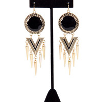 Circle Tribal Earring - 2020AVE