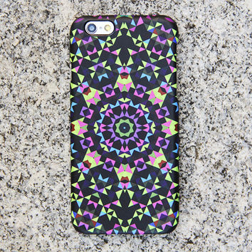 Tribal Geometric iPhone 6 iPhone 6 plus Case Flower iPhone 5S 5 iPhone 5C iPhone 4S/4 Case Samsung Galaxy S6 edge S6 S5 S4 Note 3 Case 049