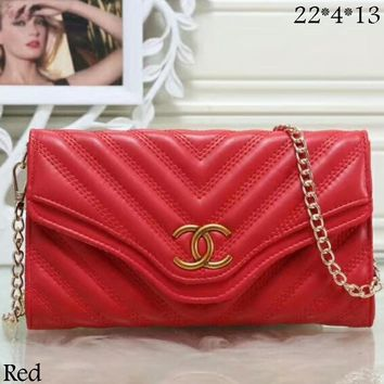 GUCCI fashion brand women's elegant and elegant fashion leather handbag clutch bag F-LLBPFSH Red