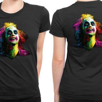 Beetlejuice 2 Sided Womens T Shirt
