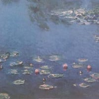 Claude Monet Water Lilies Art Poster 24x36