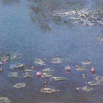 Claude Monet Water Lilies 1906 Art Poster 24x36