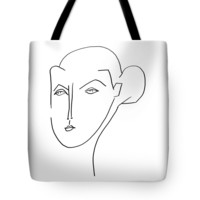 Picasso Woman 11 Tote Bag for Sale by Bill Owen