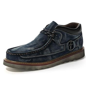 Casual Genuine Leather Shoes