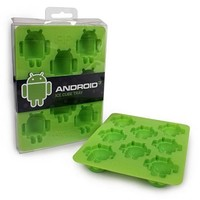 Ice Cube Trays From Android Foundry Make Designer Mini Robots of Ice