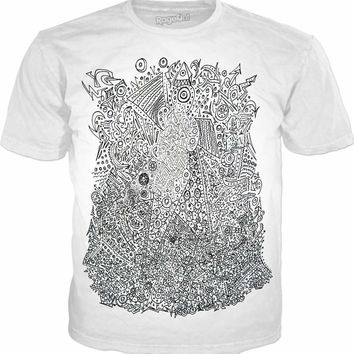 Neon Alien Nest T-Shirt