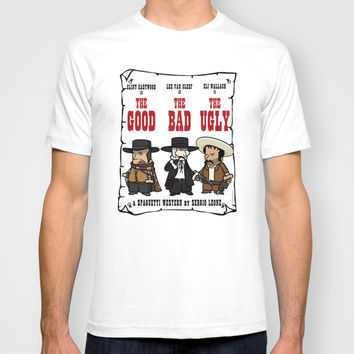 The good, the bad, the ugly T-shirt by Vicente Mateo Serra