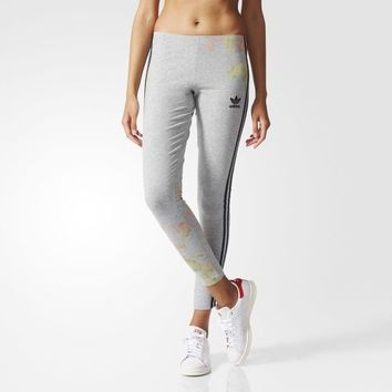 adidas Pastel Rose Leggings - Grey | adidas US