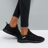 Puma Prowl Alt Weave Training Trainers In Black at asos.com