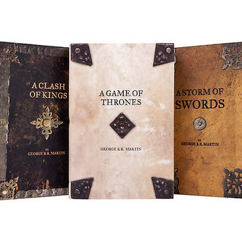 Asst. of 5 Game of Thrones Armor Book Set - Books - Gifts & Jewelry - Decor | One Kings Lane