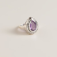 Sterling Silver and Amethyst Ring - World Market