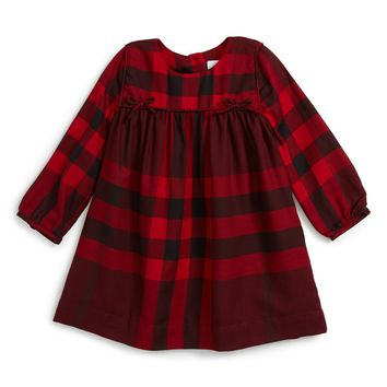 Burberry 'Thea' Plaid Dress (Baby Girls) | Nordstrom
