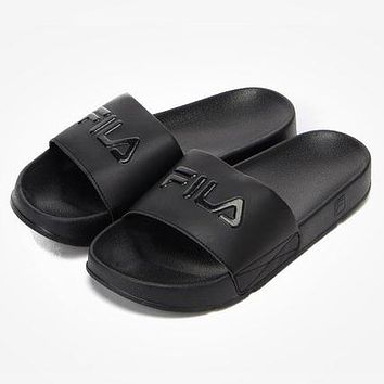 FILA Disruptor2 Woman Men Fashion Sandals Slipper Flats Shoes 12f28588e7