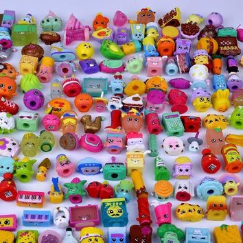 100Pcs/lot Fruit Shop Action Toy Figures Kins For Shopkin Playing Toys