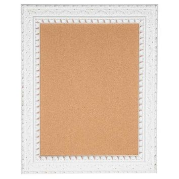 White Framed Corkboard with Wide Moulding | Hobby Lobby