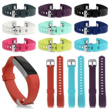 Replacement Silicone Wristband Band Bracelet Schnalle Strap for Fitbit Alta & HR