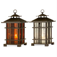 2 Candle Lanterns - Asian Inspired