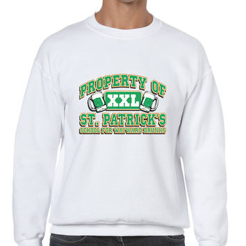PROPERTY OF St patrick men sweatshirt