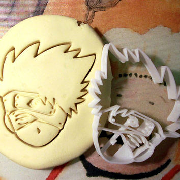 Naruto Kakashi Hatake Cookie Cutter - Made from Biodegradable Material
