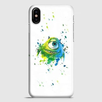 Monster Inc Mike Paint Brush iPhone X Case
