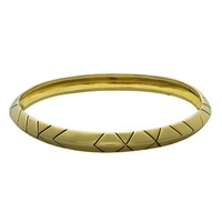 House of Harlow 1960 Jewelry Aztec Stack Bangle