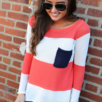 Sunset Boulevard {Coral + Ivory + Navy}