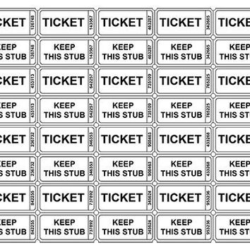 Small Business Raffle Ticket