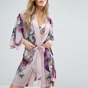 Ted Baker Sunlit Floral Kimono at asos.com