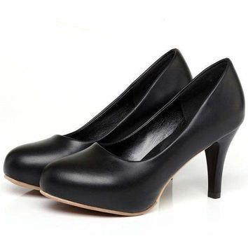 Moonmeek Arrive Simple Women Shoes Slip On Casual Extreme High Heel Women Pumps Shoes