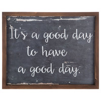 Good Day Wood Wall Decor | Hobby Lobby | 1297837