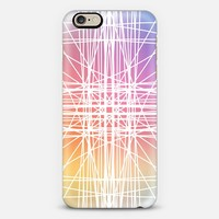 Linear Colorburst iPhone 6 case by Lisa Argyropoulos | Casetify