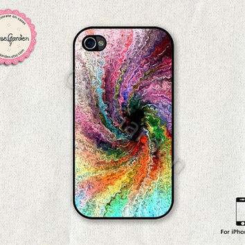 iPhone 4 Case, iPhone 4s Case, iPhone Case, iPhone Hard Case, iPhone 4 Cover, iPhone 4s Cover, Colorful Storm