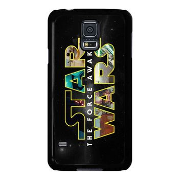 Star Wars The Force Awakens Bb8 Poster Samsung Galaxy S5 Case